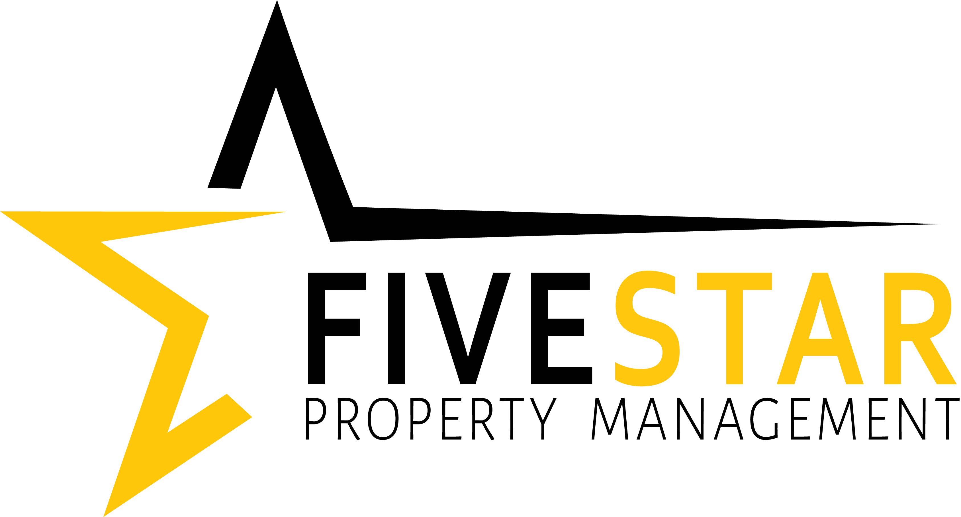 Five Star Property Management Logo in Full Color