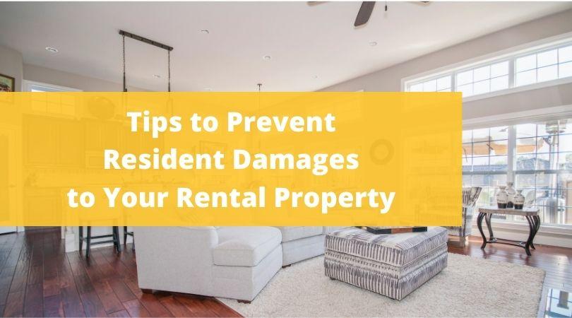 prevent tenant damage