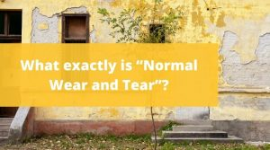 """What exactly is """"Normal Wear and Tear"""""""