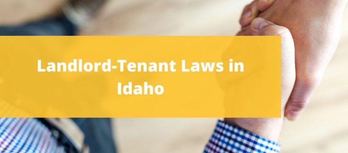 landlords rights in idaho