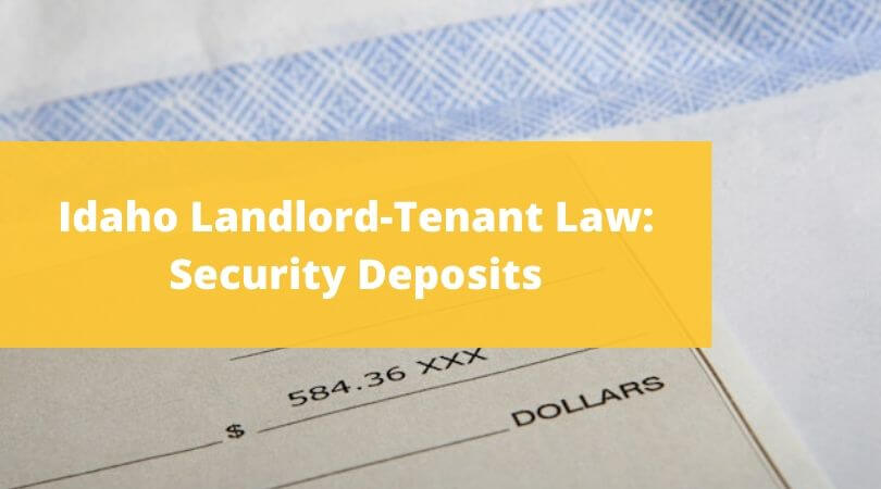 what is a security deposit for